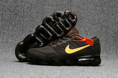 NIKE AIR MAX 2018 VAPORMAX Shoes Men's - Running Training - Classic Series BROWN