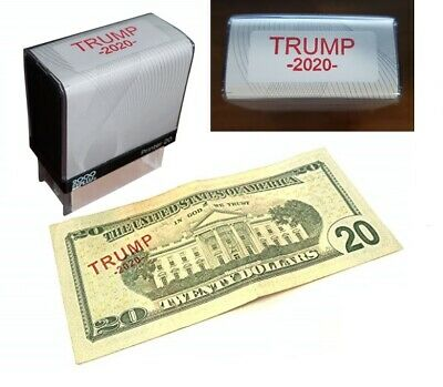 Trump 2020 Re-Election Keep America Great MAGA Custom Self-Inking Rubber Stamp