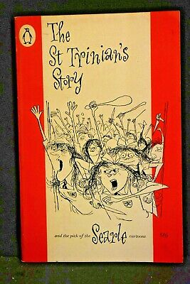 Kaye Webb - THE ST TRINIAN'S STORY + the Best Cartoons, MSC,1961, Good Condition