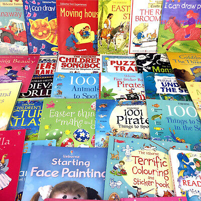 Lot 30 Usborne Books Science Nature Childrens Educational Series Homeschool Set