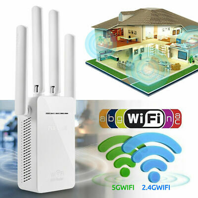 300Mbps WiFi Blast Wireless Repeater WiFi Range Extender Signal Booster G7T6W