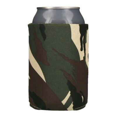 Green Camo Can & Bottle Insulators 25 Blank Foam Can Coolers Coolies Koozies
