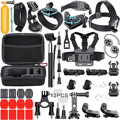 GoPro Accessories Outdoor Sports Bundle Kit for GoPro Hero 8/7/6/5/4/3/2/1Camera