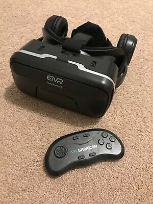 ETVR Virtual Reality 4.0 Remote Control Headphones Fully Immersive