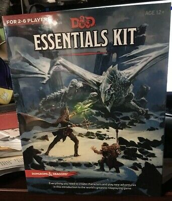 D&D 5E Essentials Kit Target Exclusive Dungeons and Dragons In Hand Free Ship