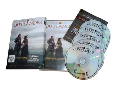 Outlander Season 4 (DVD ,5-Disc Set)  Brand New Sealed