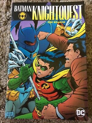 BATMAN KNIGHTQUEST: THE SEARCH O'Neil/Grant/Dixon 1st ed DCComics (2018) TP fine