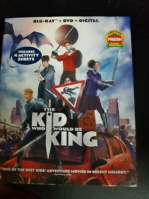 Kid Who Would Be King (Blu-Ray + DVD + Digital) SEALED WITH SLIPCOVER