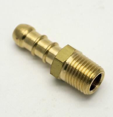 """British Made 1/4"""" BSPT MALE FITTING TO LPG FULHAM NOZZLE TO 8mm I/D HOSE (24)"""
