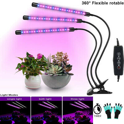LED Plant Grow Light Lamp Head Full Spectrum Indoor Greenhouse Garden Hydroponic