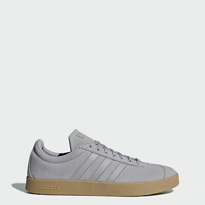 ADIDAS PERFORMANCE VL Court Schuh Damen Sneakers Grau