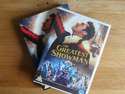 The Greatest Showman (DVD, 2018) : NEW AND SEALED IN BOX COVER
