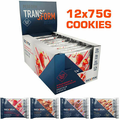 Sci-MX Nutrition Pro2Go Whey Protein Cookie 12x75g Sci Mx Pro 2Go Cookies