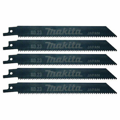 Makita Wood Reciprocating Saw Blades 160mm Pack of 5