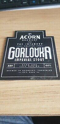 Requiem   pump clip sign Acorn Brewery