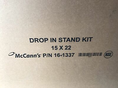 McCann's Drop In Ice Combo Stand Model 16-1337 NEW