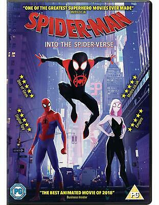 Spider-Man  Into the Spider-verse DVD. BRAND NEW FREE POSTAGE
