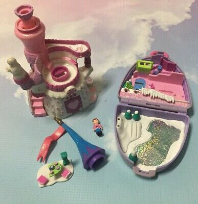 Vintage Polly Pocket And Starcastle Trendmasters Lot With Doll And Parts