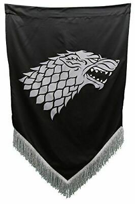 Game of Thrones House Stark Fringed Wall Banner
