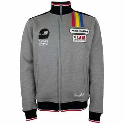 James Hunt Collection Sweat Jacket Watkins Glen Grey Melange ADULT