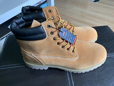 78bcf24cdc8 NWT MEN'S LEVI Harrison Engineer Boots Wheat Size 13 $84.99 Retail