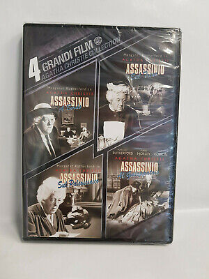 Agatha Christie Collection - Cofanetto Dvd - 4 Film - Margaret Rutherford