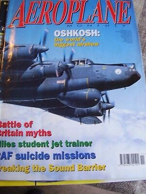 Aeroplane Monthly - November 1997 Battle Of Britain Raf Suicide Missions