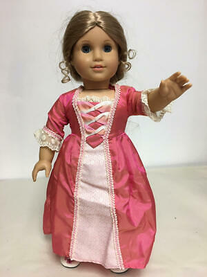American Girl Doll Elizabeth In Meet Outfit