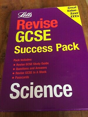 Revise GCSE Success Pack Science by Letts Educational (Paperback, 2000)