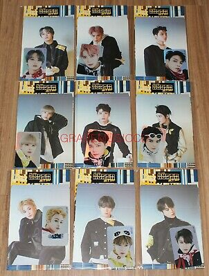 Nct 127 We Are Superhuman Smtown Official Goods Hologram Photo Card Set Sealed
