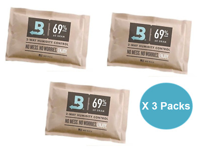 BOVEDA 69% RH (60 GRAM) - 3 Packs