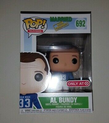 Funko Pop! Al Bundy Married With Children Target Ex #692 Football + Soft Protect