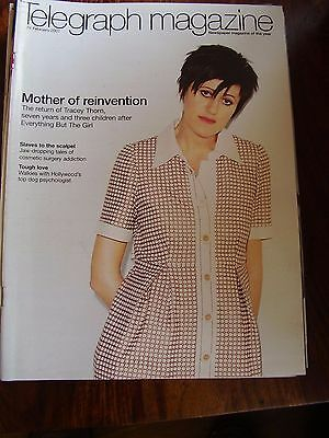 Vintage Telegraph Magazine February 2 Tracey Thorn Mother Of Reinvention