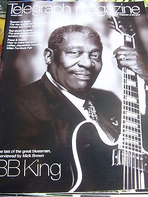 Vintage Telegraph Magazine May 2009 Tycoon Trash Too Much To Bear Bb King