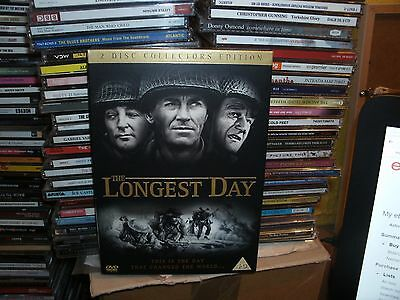 The Longest Day (DVD, 2004, 2-Disc Set) D-DAY 60TH ANNIVERSAY EDITION