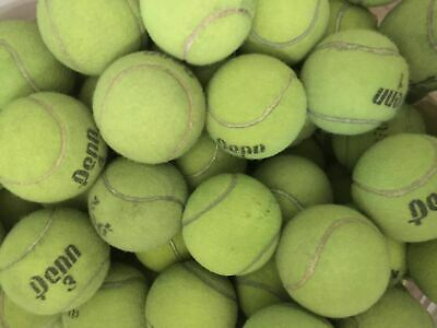 171 Used Tennis Ball Lot WILSON DUNLAP PENN DOG TOY Walker Furniture Protector