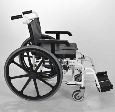 Self Propelled Shower Commode Wheelchair