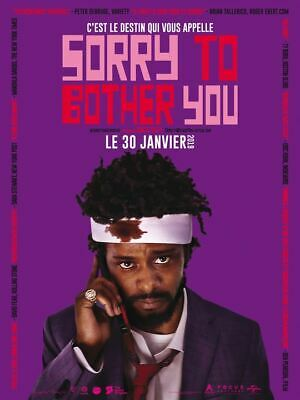Sorry To Bother You - Affiche cinema 40X60 - 120x160 MOVIE Poster
