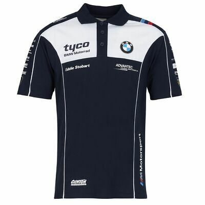 Tyco BMW Superbike Racing Team Polo Shirt | New | Official Merchandise