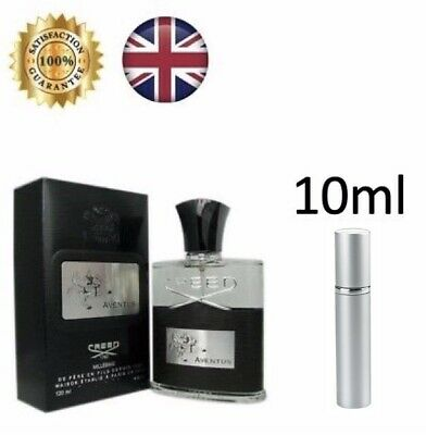 CREED AVENTUS Men's Perfume Eau De Parfum 10ml EDP TRAVEL SAMPLE DECANT