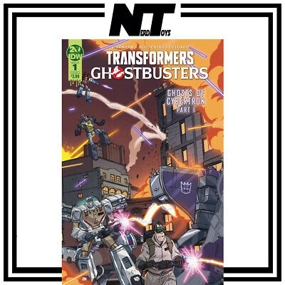 Idw Transformers Ghostbusters Ghosts Of Cybertron #1 Cover A Schoening