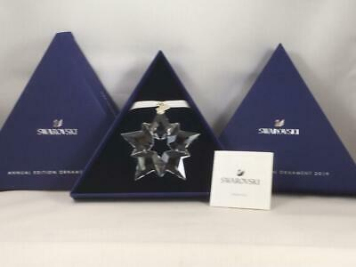 Swarovski Crystal 2019 ANNUAL EDITION LARGE CHRISTMAS ORNAMENT 5427990 authentic