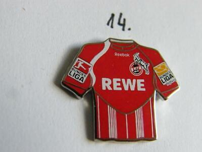 FC Köln Trikot Pin Badge 2010//2011 Home Badge Kit Rewe rot 1