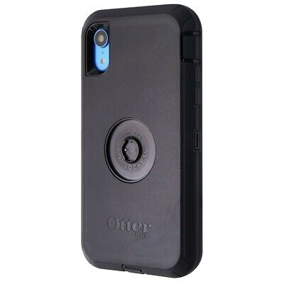 INCOMPLETE OtterBox Defender Series Screenless Case for iPhone XR - Black