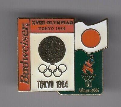 Rare Pins Pin's .. Olympique Olympic Atlanta 1996 Team Japon Tokyo 1964  Big ~19