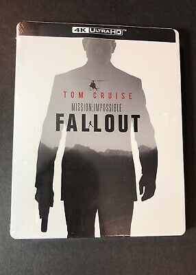 Mission Impossible Fallout [ STEELBOOK Edition ] (4K Ultra HD Blu-ray) NEW