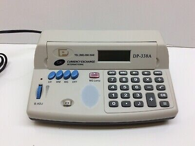 CXI Currency Exchange DP-338A Ultraviolet Magnetic Counterfeit Detector