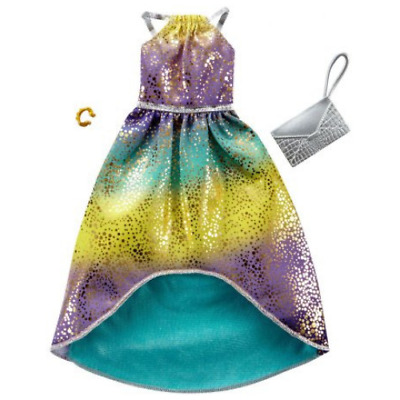 Barbie Fashion Pack Ombre Sparkle dress with purse and bracelet