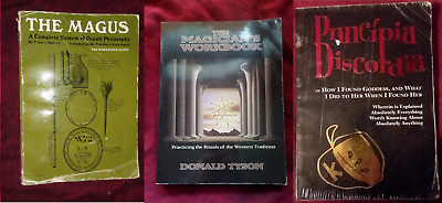 LOT OF 8 Metaphysical Books Magick Witchcraft Reflexology