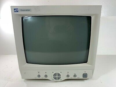 ADT Observation A-O14QB 4-Channel Split Screen CRT Security Monitor (Working)